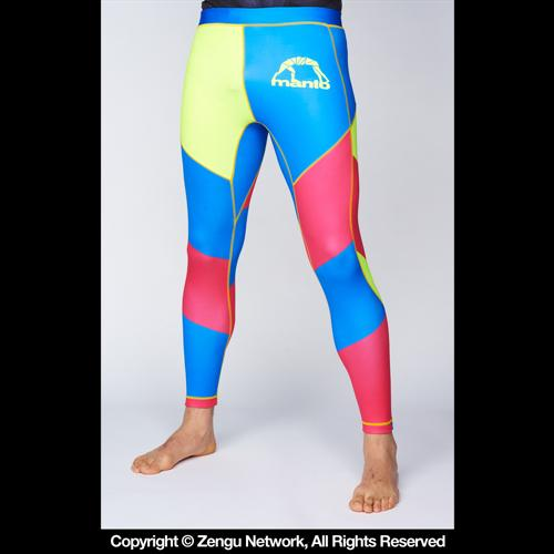 Manto Manto Multicolor Grappling Tights